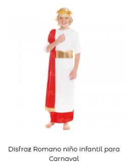disfraz romano infantil belén viviente