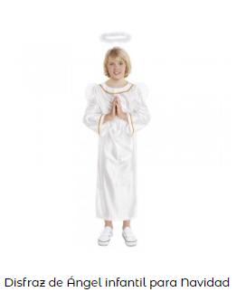 disfraz ángel para niño belén viviente