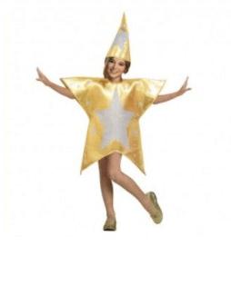 karaoke villancicos navideños disfraz estrella