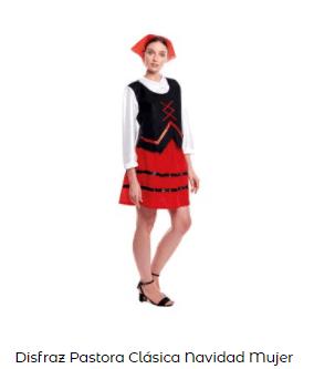 disfraz de pastorcillos mujer