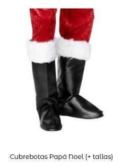 disfraz papá noel botas