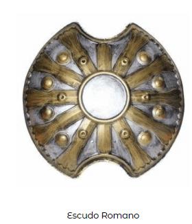 escudo disfraz romano belén viviente