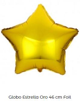 estrella globo decoración navidad