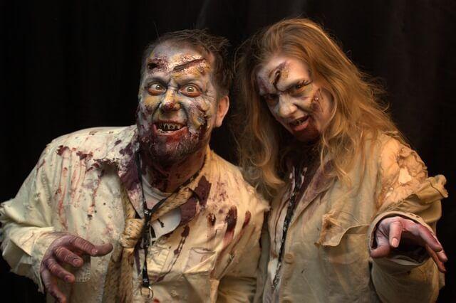 día del orgullo zombie para disfrazarte