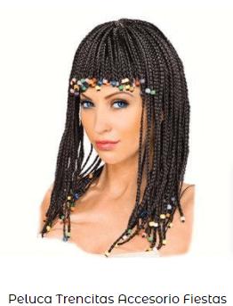 pelucas egipcias disfraces cleopatra