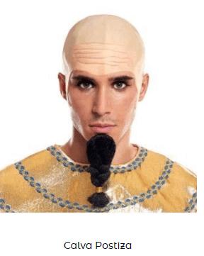 pelucas egipcias disfraces