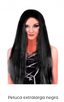 pelucas extralarga para disfraces lisa