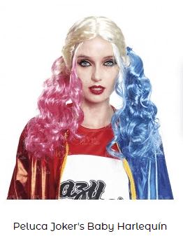 peluca famosa harley quinn