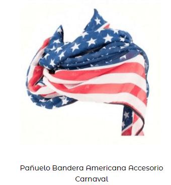 accesorio pañuelo americano