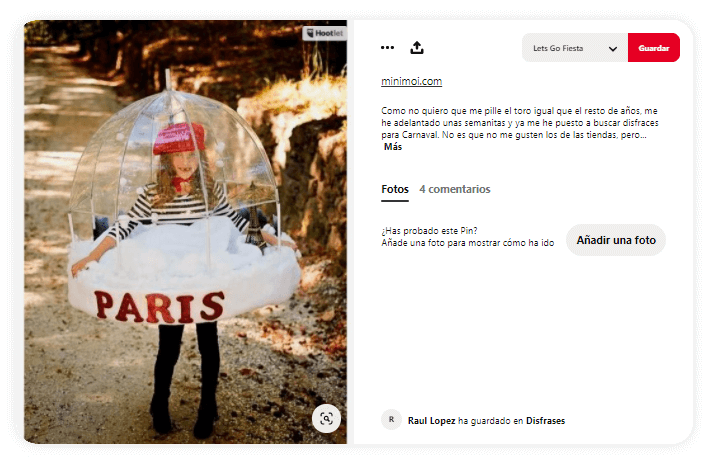 disfraces creativos para niños bola de nieve