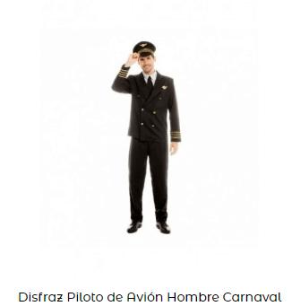disfraces de carnaval originales piloto adulto
