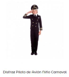 disfraces originales piloto infantil