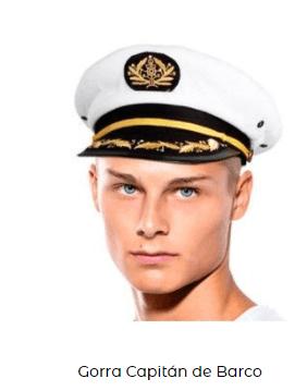 gorro capitán barco para among us