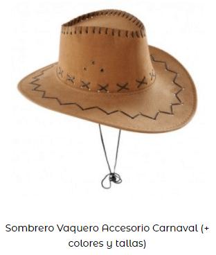 gorro vaquero para among us