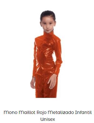 mono disfraz casero among us naranja niña