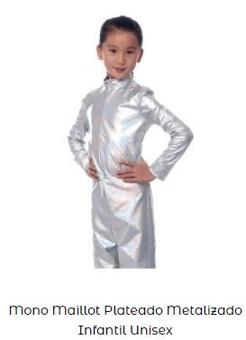 mono disfraz casero among us plata niños