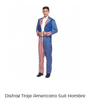disfraces de carnaval originales traje americano trump