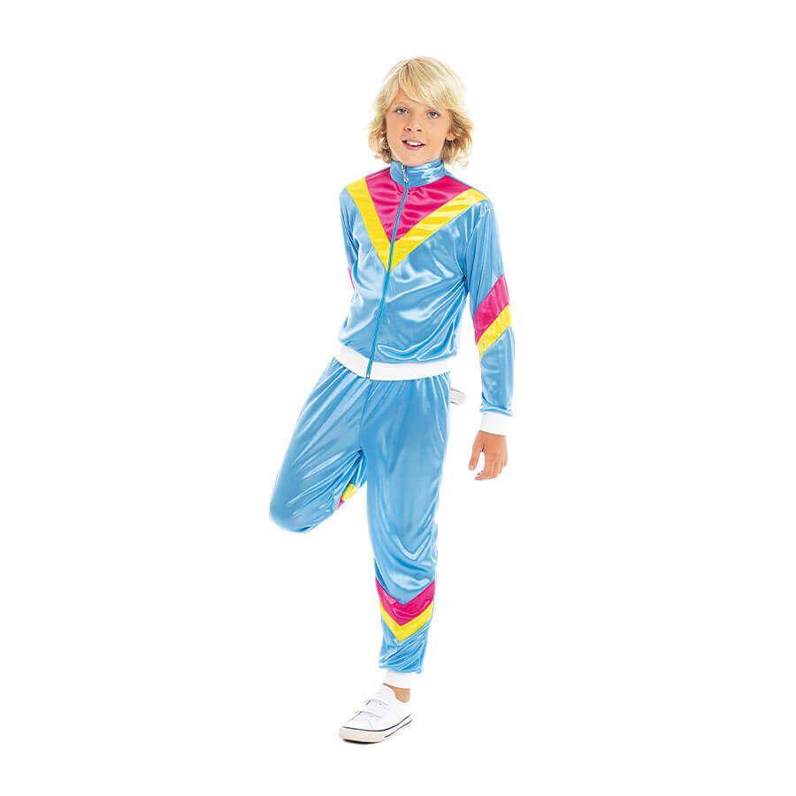 disfraz chandal años 80 carnavales infantil