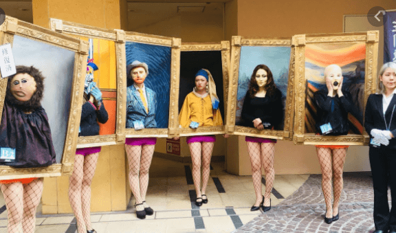 disfraces de carnaval originales cuadro real