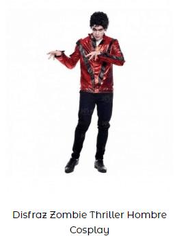disfraz zombi Michael Jackson thriller