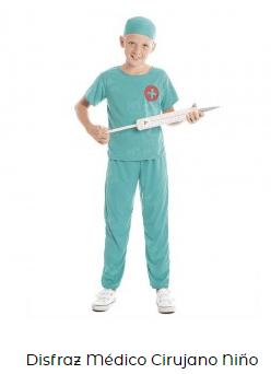 disfraces de carnaval originales enfermero coronavirus