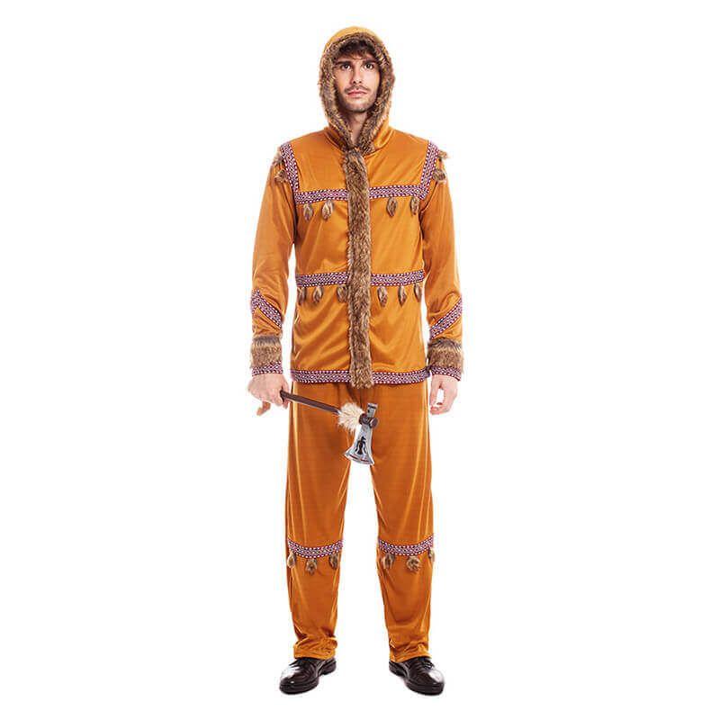 disfraces de carnaval originales esquimales hombre