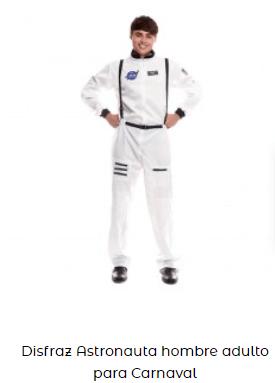 disfraces de carnaval originales astronauta hombre