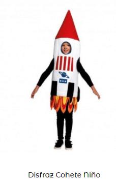disfraces de carnaval originales cohete niños