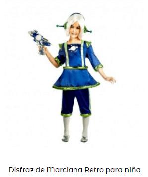disfraces de carnaval originales alien para niñas