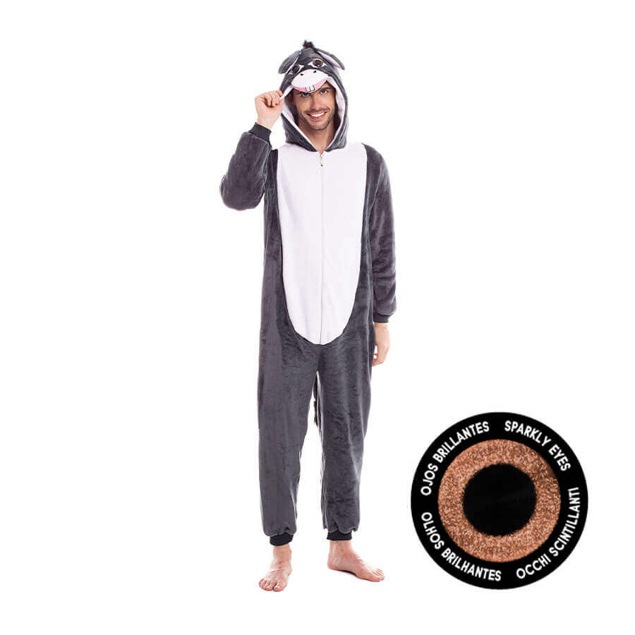 disfraz pijama para adulto