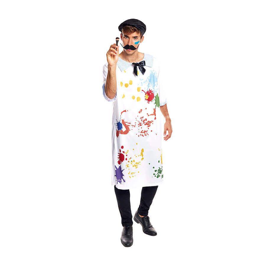 disfraces de carnaval originales pintor adulto