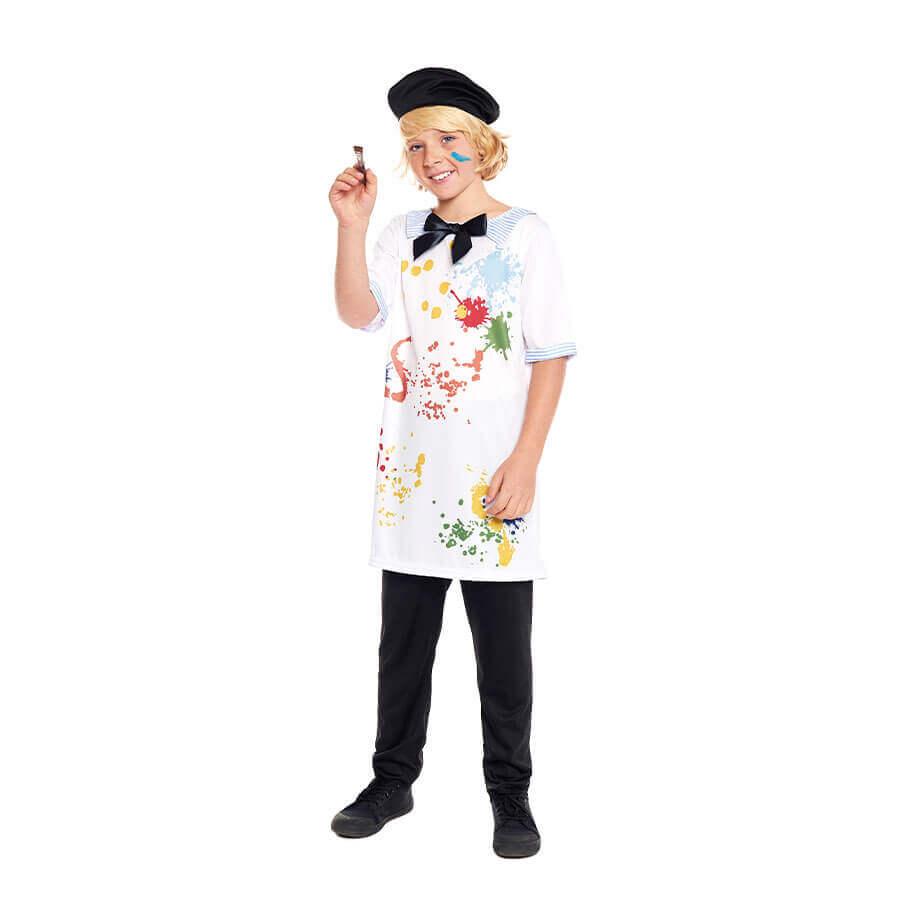fisfraz pintor para carnaval infantil