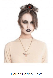 collar colgante disfraz mal querer Rosalía