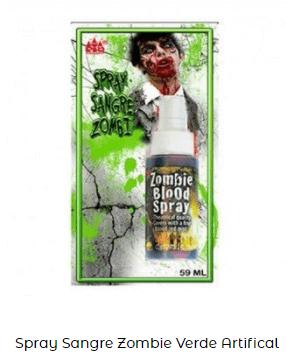 spray zombi sangre artificial maquillaje