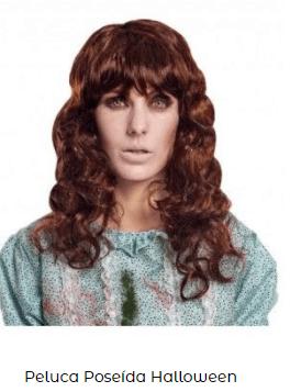 peinado mujer poseída halloween