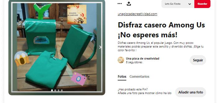 pasos disfraz among us casero