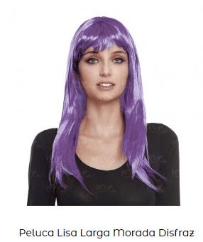 pelo morado dia de la mujer