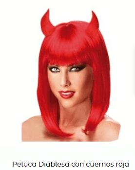 tocado pelo rojo diablesa