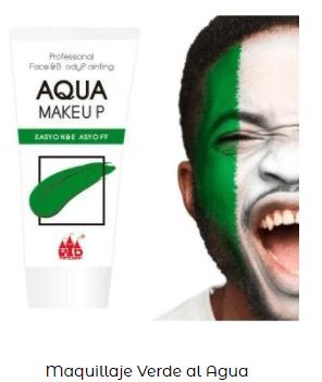 pintura verde cara