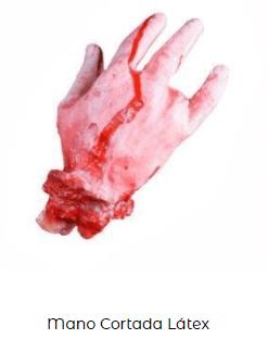 postizo mano disfraz zombi accesorio