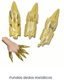 postizo uñas disfraz rosalía