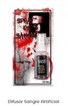 sangre artificial maquillaje
