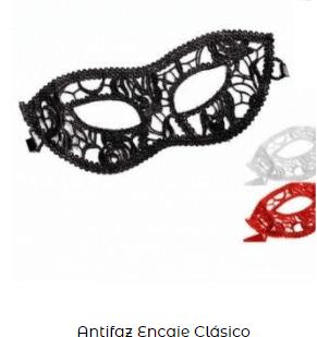 ideas san Valentín antifaz veneciano clásico
