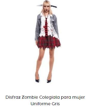 disfraces élite netflix uniforme chica muerta