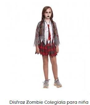 disfraces élite netflix uniforme niña muerta