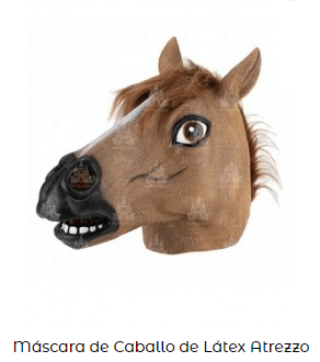 disfraces series netflix Bojack Hourseman cabeza