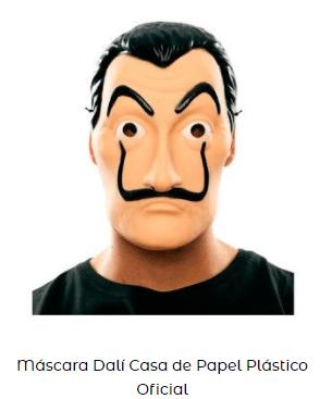 disfraces series netflix la casa de papel máscara