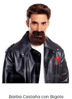 disfraz sons of anarchy motero barba