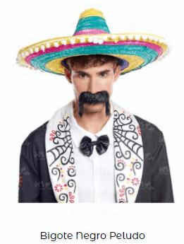 disfraz sons of anarchy motero bigote