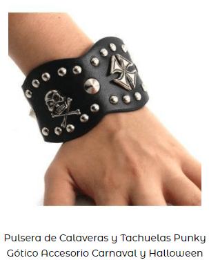 disfraz sons of anarchy motero pulsera